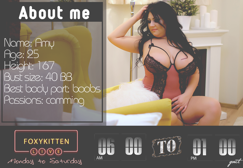 FoxyKitten About & Schedule custom pic 1