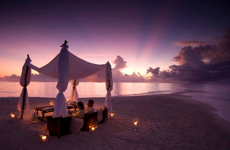 _OdrI_ My dream date is a romantic dinner on the beach in Maldives custom pic 1