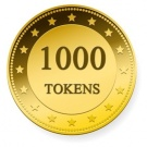 1000 TOKENS TIP