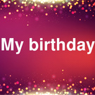 My Birthday April 8