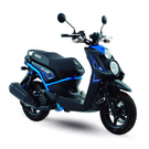 Motorcycle bws blue Yamaha