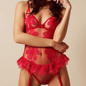 Agent Provocateur Seraphina Body Red